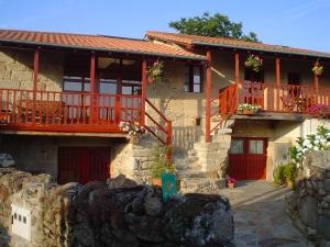 Casa rural A Casa da Eira Main facade